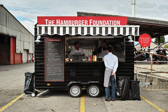 The Hamburger Foundation, Geneva's first food truck
