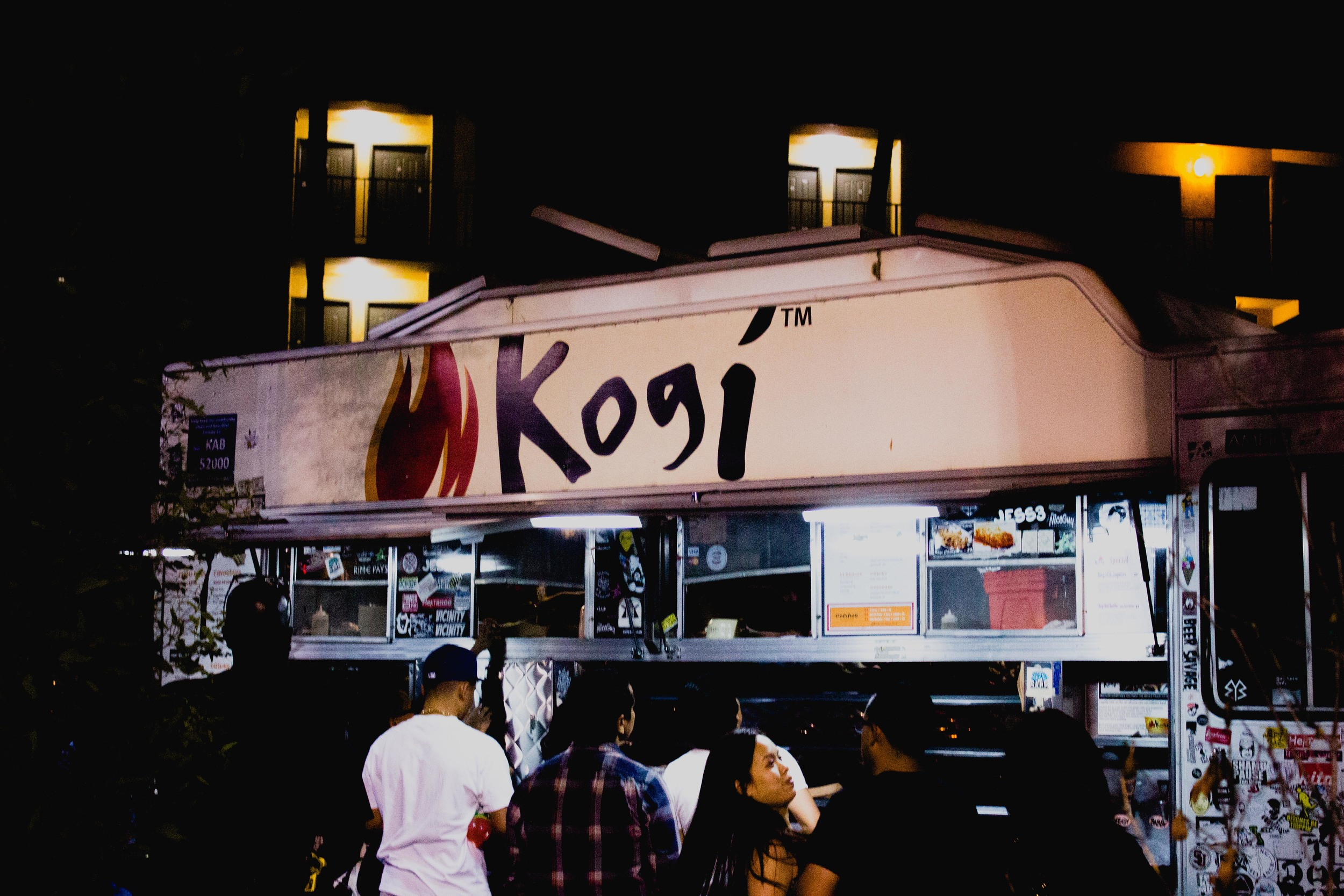 Chef Roy Choi's Kogi BBQ food truck, which kickstarted L.A.'s food truck