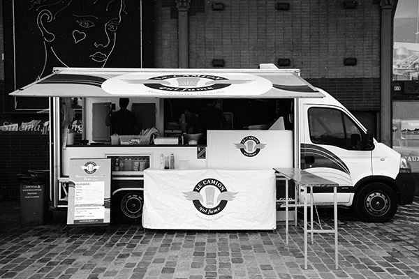 The Camion Qui Fume, Paris's food truck pioneer
