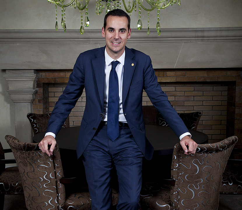 Vincent Debergé, sommelier and Director of Restaurants at Geneva's Beau-Rivage hotel.