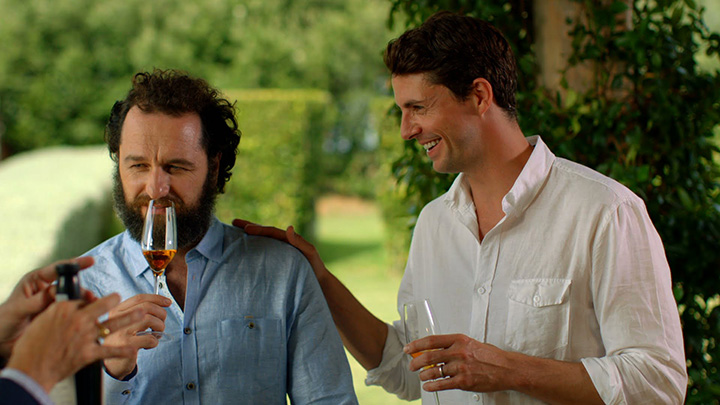 The Wine Show, starring British actors Matthew Rhys and Matthew Goode, airing in Spring 2016 on ITV